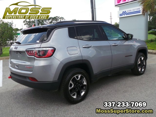 Pre-Owned 2018 Jeep Compass Trailhawk